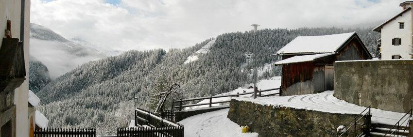 Aussicht über den Kirchhof